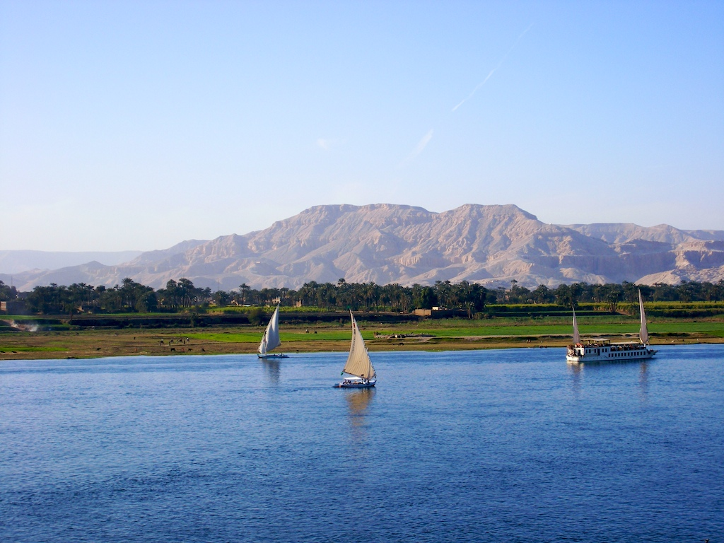 Nile-Near-Luxor